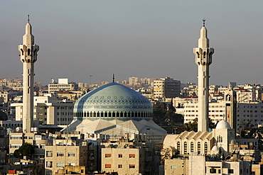 King Abdullah Mosque, Al-Abdali district, Amman, Jordan