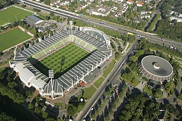 BayArena, soccer stadium, Leverkusen, North Rhine-Westphalia, Germany