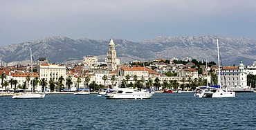 Old part of town, Split, Middle Dalmatia, Croatia