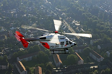 DEU, Germany : Police helicopter squad. BK117C1 Helicopter. |