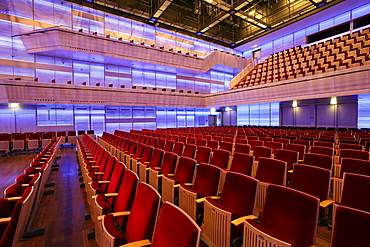 Concerthall, Muziekgebouw aan'TJI, Amsterdam, The Netherlands