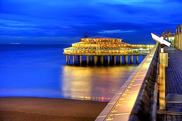 Seaside Pier and Casino, Scheveningen, The Netherlands