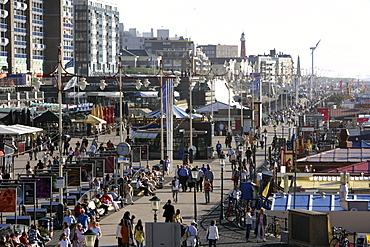 Beach promenade, Scheveningen, The Hague, The Nethelands, Europe