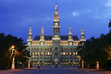City hall, Vienna, Austria, Europe