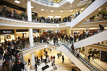 Limbecker Platz Shopping Centre, opened in March 2008, Germany's largest urban shopping centre, Essen, North Rhine-Westphalia, Germany