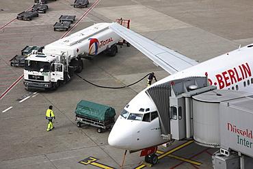 Duesseldorf-International Airport, Duesseldorf, North Rhine-Westphalia, Germany, Europe