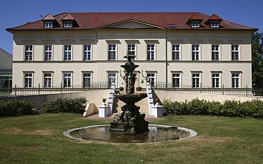 Teschow Castle Hotel, golf and spa hotel, Teschow, near Teterow, Mecklenburg-Western Pomerania, Germany, Europe