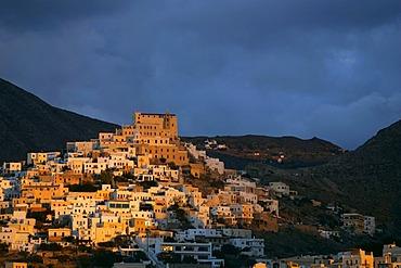 Ermoupolis on Syros, Greece