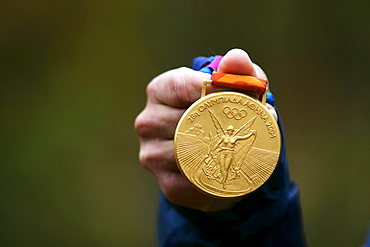 Gold medal from the 2004 Summer Olympics in Athens