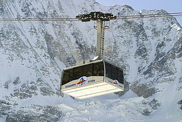 Gondola car, Sulden Ski Resort, Bolzano-Bozen, Italy
