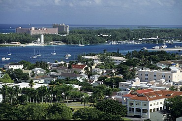 BHS, Bahamas, New Povidence, Nassau: Paradise Island. Independent state in the West Indies, member of Comonwealth of Nations.