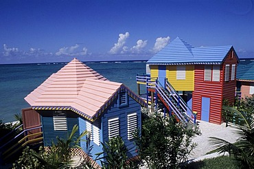 BHS, Bahamas, New Povidence, Nassau: Compass Point Hotel and resort. Independent state in the West Indies, member of Comonwealth of Nations.