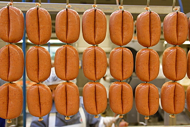 Turkish meat and sausage factory Egetuerk, Cologne, North Rhine-Westphalia, Germany