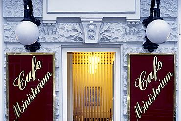 Cafe Ministerium, Georg Coch Square, Vienna, Austria, Europe
