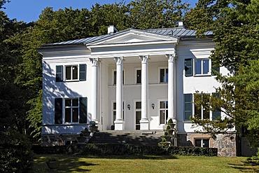 Oppenheim Villa, park front, beach promenade Heringsdorf seaside resort, Usedom Island, Mecklenburg-Western Pomerania, Germany, Europe