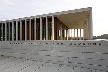 Museum of modern literature, Marbach Neckar, Baden-Wuerttemberg, Germany