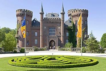 Castle Moyland, museum of modern art, Bedburg Hau, Kleve, NRW, Germany