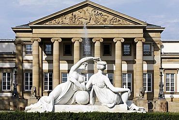 Museum of natural history, castle Rosenstein, Stuttgart, Baden-Wuerttemberg, Germany