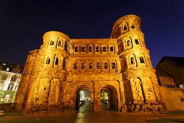 Porta Nigra, city front, Trier, Rhineland-Palatinate, Germany