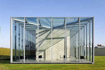 Art museum Langen Foundation, former NATO missile station Hombroich, Neuss, NRW, Germany