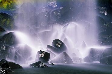 Svartifoss Waterfall, Iceland, Atlantic Ocean