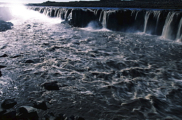 Selfoss Waterfall, Iceland, Atlantic Ocean
