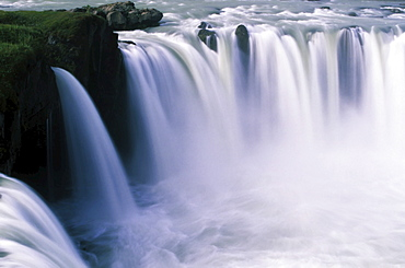 Godafoss Waterfall, Iceland, Atlantic Ocean