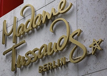 Logo of Madame Tussaud's Wax Figure Cabinet, Berlin, Germany, Europe