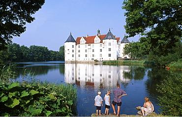 Gluecksburg Palace, Schleswig-Holstein, Germany, Europe