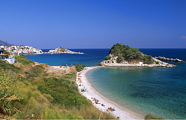 Kokkari Beach, Samos Island, Greece, Europe