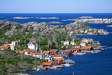 Village of Smoegen, Bohustaen, Sweden, Scandinavia, Europe