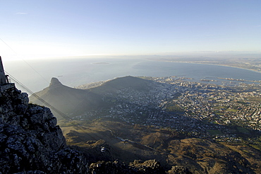 View of Cape Town from Table Mountain, Cape Town, South Afrikca