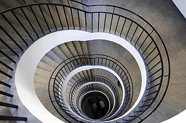 Staircase, Deutsches Museum (German Museum), Munich, Bavaria, Germany