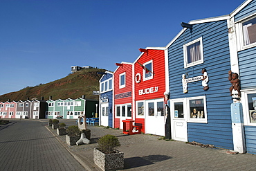 Water front, Helgoland, Schleswig-Holstein, Germany