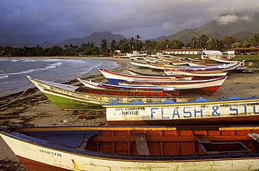 Fishing boats, Puerto Fermin, Isla Margarita, Venezuela, Caribbean