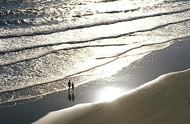 Playa de Fontanilla, beach in Conil de la Frontera, Costa de la Luz, Cadiz Province, Andalusia, Spain
