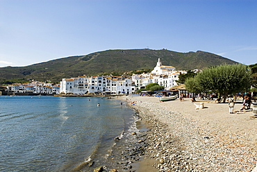 Beach of Cadaques, Costa Brava, Catalonia, Spain