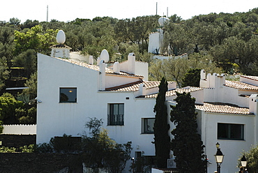 House of surrealist painter Salvador Dali and his wife Gala in Port Lligat, Province Girona, Spain
