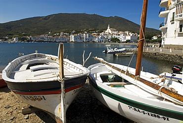 Boats in Cadaques, Girona, Spain