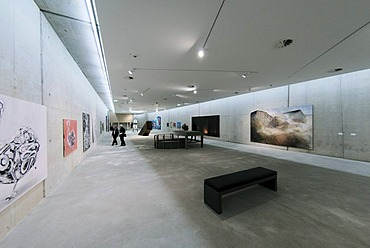 KIT Art Gallery, Kunst im Tunnel, literally Art in the Tunnel, Duesseldorf, North Rhine-Westphalia, Germany, Europe