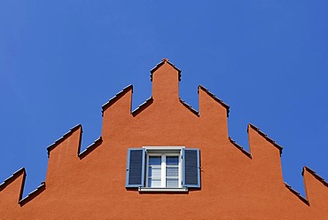 Ueberlingen - front of a medieval house - Baden Wuerttemberg, Germany, Europe.