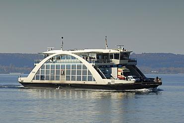 Ferry ship MF Tabor - Baden Wuerttemberg, Germany Europe.