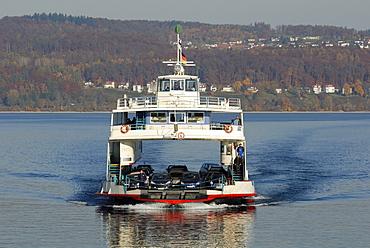 Ferry Ship MF Fritz Arnold - Baden Wuerttemberg, Germany Europe.