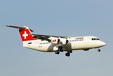 Avro Regional Jet RJ 100 from the Swiss International Air Lines AG
