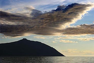 Hill - crown. . Nagaevo bay, Sea of Okhotsk. Magadan, Eastern Siberia, Russia