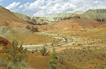 National park Altun Emel, Aktau, Kazakhstan
