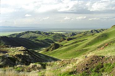 National park Altyn Emel. Aktau, Kazakhstan