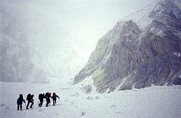 The mountain range Central Tien Shan, Kazakhstan.