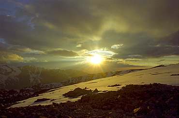 National park Ili Alatay, mountains Zailisky Alatau, Almaty area, Kazakhstan
