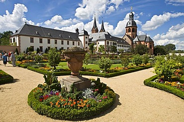 Former benedictine abbey, Seligenstadt, Hessen, Germany